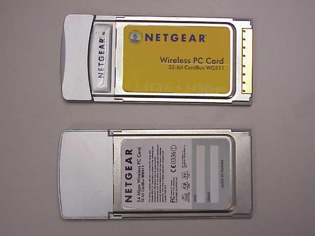 Netgear Wg511v2 54mbps Wireless Pc Card Driver Download